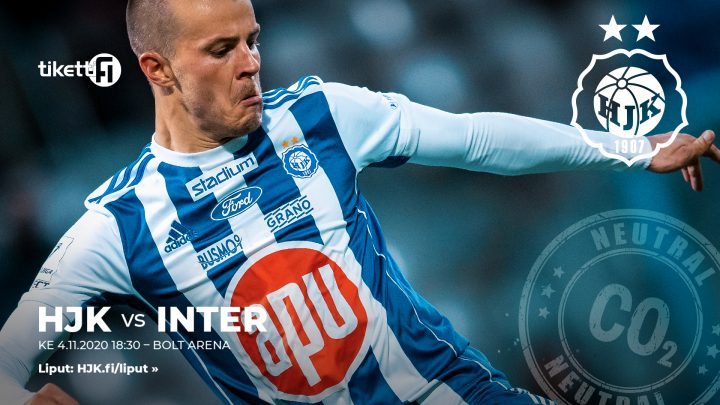 HJK vs Inter 4.11.2020