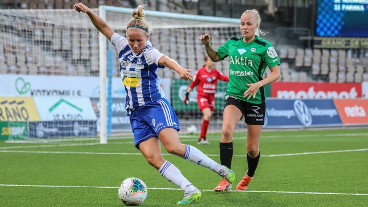 TiPS-HJK - HJK Helsinki. Photo: @ Kalevi Hamalainen